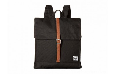 Herschel Supply Co. City Mid-Volume Black/Tan Synthetic Leather - Black Friday 2020