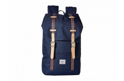 Herschel Supply Co. Retreat Mid-Volume Medieval Blue Crosshatch/Medieval Blue