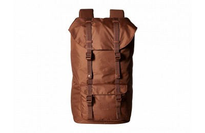 Herschel Supply Co. Little America Light Saddle Brown