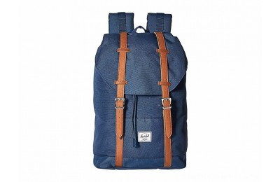 Herschel Supply Co. Retreat Mid-Volume Navy/Tan Synthetic Leather