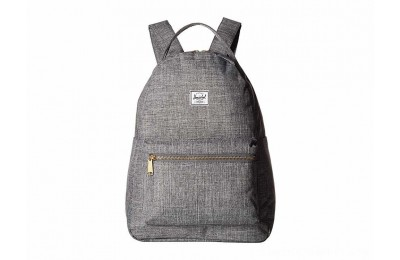 Herschel Supply Co. Nova Mid-Volume Raven Crosshatch