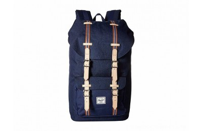 Herschel Supply Co. Little America Medieval Blue Crosshatch/Medieval Blue