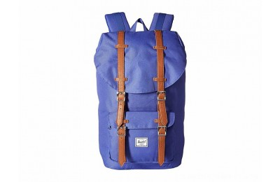 Herschel Supply Co. Little America Deep Ultramarine/Tan Synthetic Leather