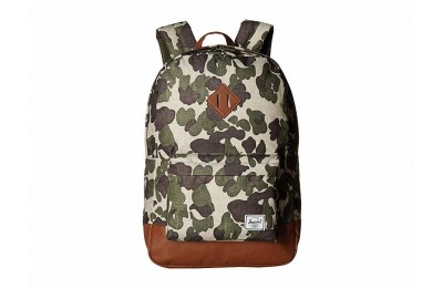 Herschel Supply Co. Heritage Frog Camo/Tan Synthetic Leather - Black Friday 2020