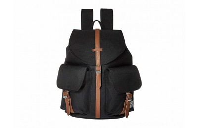 Herschel Supply Co. Dawson X-Small Black/Tan Synthetic Leather