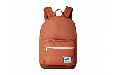 Herschel Supply Co. Pop Quiz Apricot Brandy/Saddle Brown