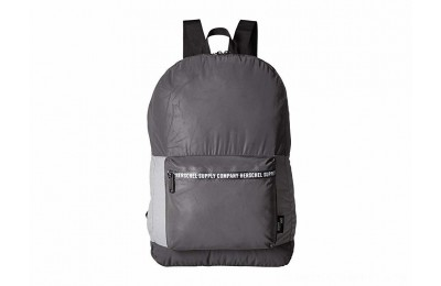 Herschel Supply Co. Packable Daypack Black Reflective/Silver Reflective