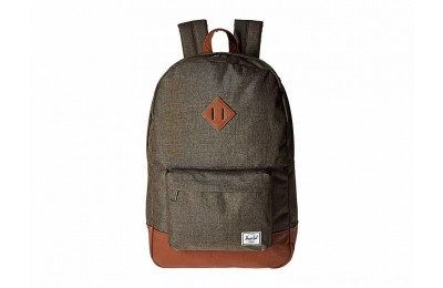 Herschel Supply Co. Heritage Canteen Crosshatch/Tan Synthetic Leather