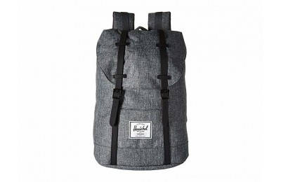 Herschel Supply Co. Retreat Raven Crosshatch/Black Rubber - Black Friday 2020