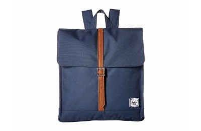 Herschel Supply Co. City Mid-Volume Navy/Tan Synthetic Leather - Black Friday 2020
