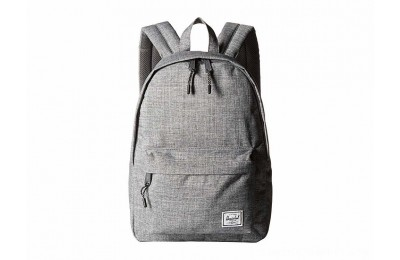 Herschel Supply Co. Classic Mid-Volume Raven Crosshatch