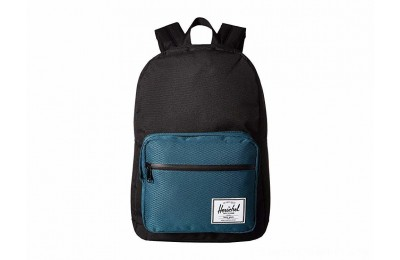 Herschel Supply Co. Pop Quiz Black/Deep Teal