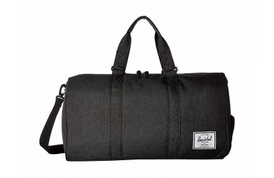 Herschel Supply Co. Novel Black Crosshatch
