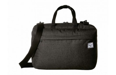 Herschel Supply Co. Sandford Black Crosshatch - Black Friday 2020
