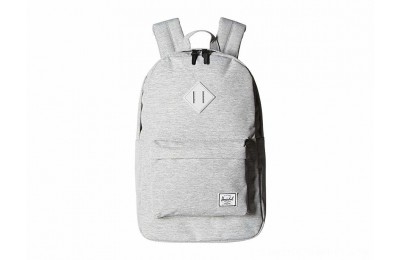 Herschel Supply Co. Heritage Mid-Volume Light Grey Crosshatch/Grey Rubber