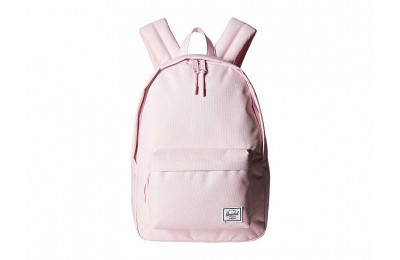 Herschel Supply Co. Classic Mid-Volume Pink Lady Crosshatch