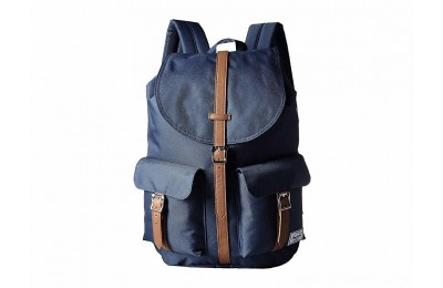 Herschel Supply Co. Dawson Navy/Tan Synthetic Leather