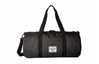 Herschel Supply Co. Sutton Mid-Volume Black Crosshatch/Black