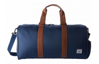 Herschel Supply Co. Novel Mid-Volume Navy/Tan Synthetic Leather - Black Friday 2020