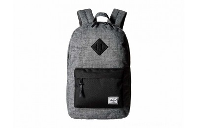 Herschel Supply Co. Heritage Mid-Volume Raven Crosshatch