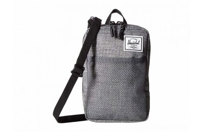 Herschel Supply Co. Sinclair Large Raven Crosshatch