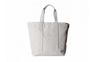 Herschel Supply Co. Bamfield Mid-Volume Light Grey Crosshatch 1