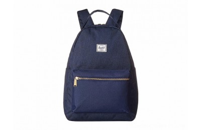 Herschel Supply Co. Nova Mid-Volume Medieval Blue Crosshatch/Medieval Blue