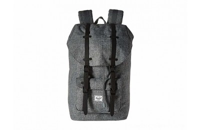 Herschel Supply Co. Little America Raven Crosshatch/Black Rubber