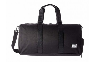 Herschel Supply Co. Novel Mid-Volume Black/Black Synthetic Leather