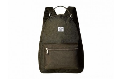 Herschel Supply Co. Nova Mid-Volume Olive Night Crosshatch/Olive Night