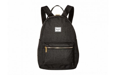 Herschel Supply Co. Nova X-Small Black Crosshatch - Black Friday 2020