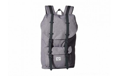 Herschel Supply Co. Little America Mid Grey Crosshatch - Black Friday 2020