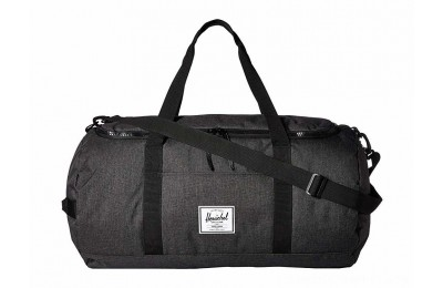 Herschel Supply Co. Sutton Black Crosshatch/Black - Black Friday 2020