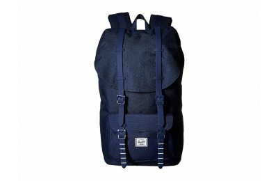 Herschel Supply Co. Little America Medieval Blue Crosshatch/Medieval Blue 1