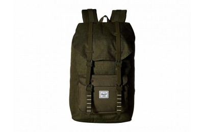Herschel Supply Co. Little America Olive Night Crosshatch/Olive Night