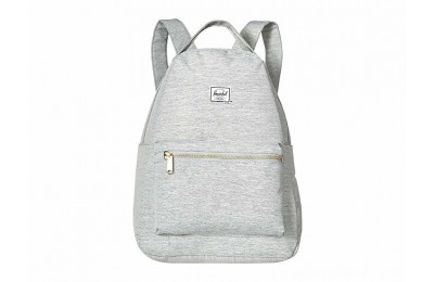 Herschel Supply Co. Nova Mid-Volume Light Grey Crosshatch - Black Friday 2020