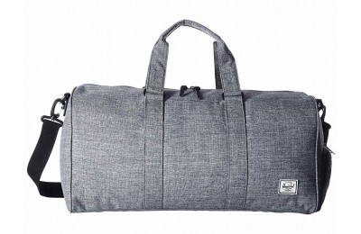 Herschel Supply Co. Novel Mid-Volume Raven Crosshatch