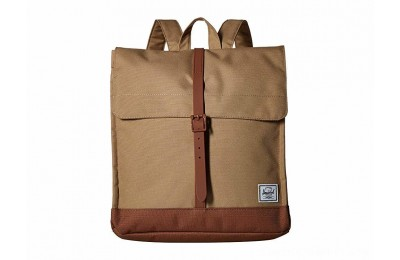 Herschel Supply Co. City Mid-Volume Kelp/Saddle Brown