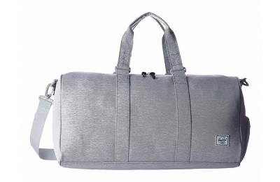 Herschel Supply Co. Novel Mid-Volume Light Grey Crosshatch