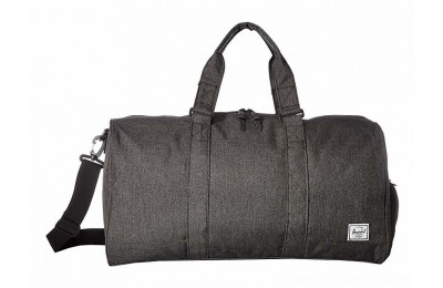 Herschel Supply Co. Novel Mid-Volume Black Crosshatch
