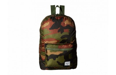 Herschel Supply Co. Packable Daypack Woodland Camo