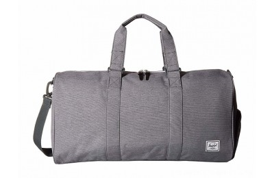 Herschel Supply Co. Novel Mid-Volume Mid Grey Crosshatch