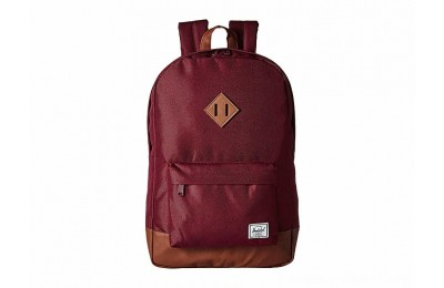 Herschel Supply Co. Heritage Windsor Wine/Tan Synthetic Leather