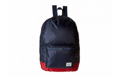 Herschel Supply Co. Packable Daypack Navy/Red 1