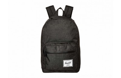 Herschel Supply Co. Pop Quiz Black Crosshatch/Black Rubber