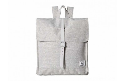 Herschel Supply Co. City Mid-Volume Light Grey Crosshatch/Grey Rubber