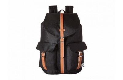 Herschel Supply Co. Dawson Black/Tan Synthetic Leather - Black Friday 2020
