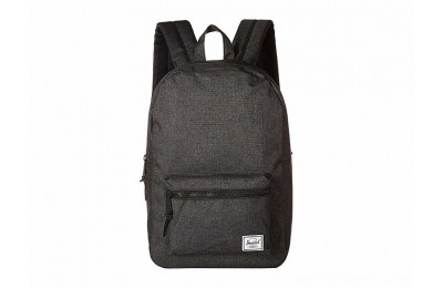Herschel Supply Co. Settlement Mid-Volume Black Crosshatch