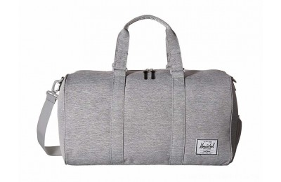 Herschel Supply Co. Novel Light Grey Crosshatch