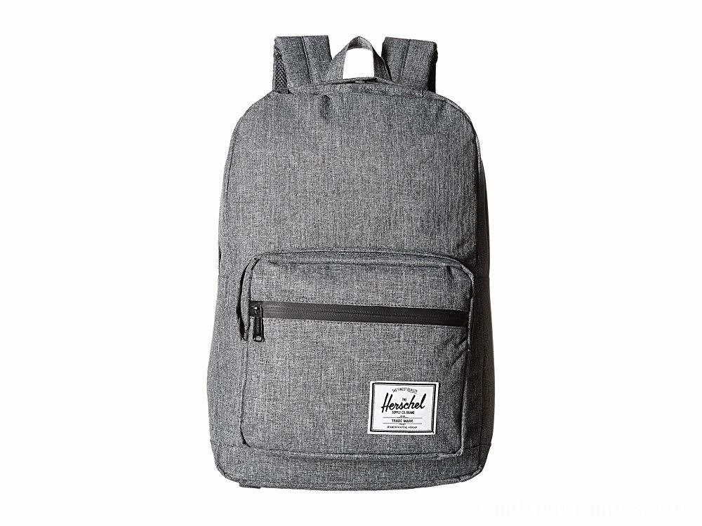 Herschel Supply Co. Pop Quiz Raven Crosshatch